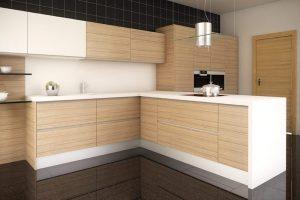 decoracion minimalista en una cocina