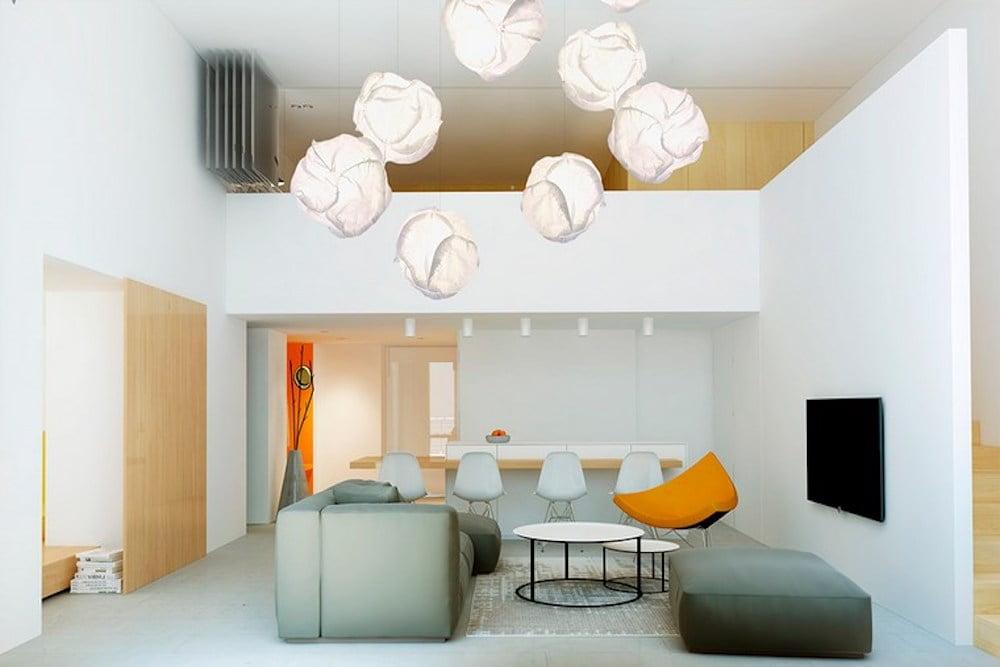 decoracion sala pequeña moderna