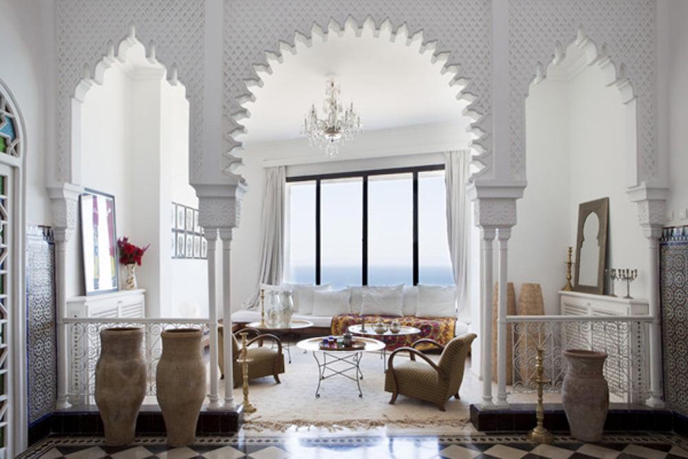 decoracion salon arabe