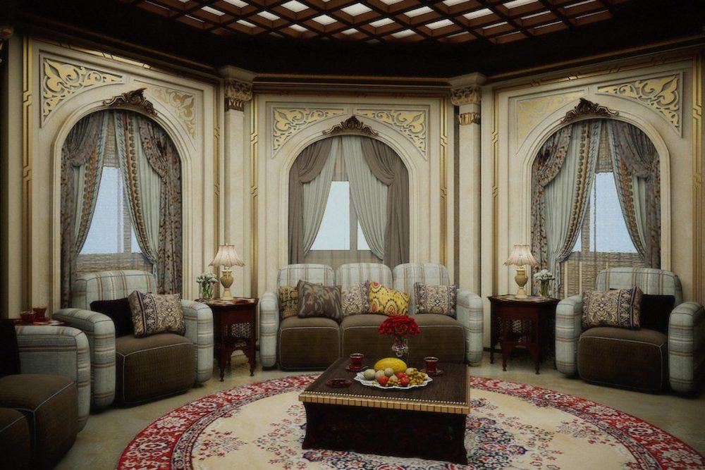 decoracion salon estilo arabe