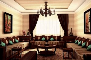 decorar salon arabe