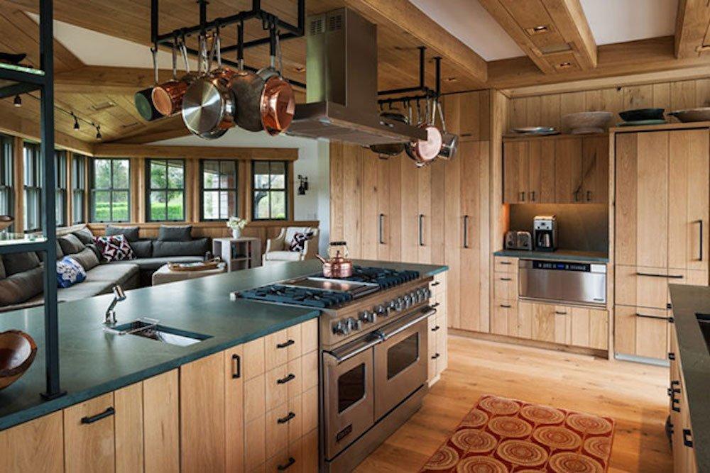 decorar una cocina rustica