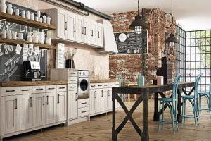ideas para cocina rustica