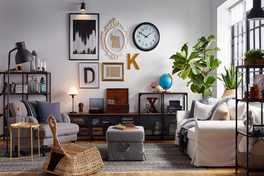 salas estilo eclecticas