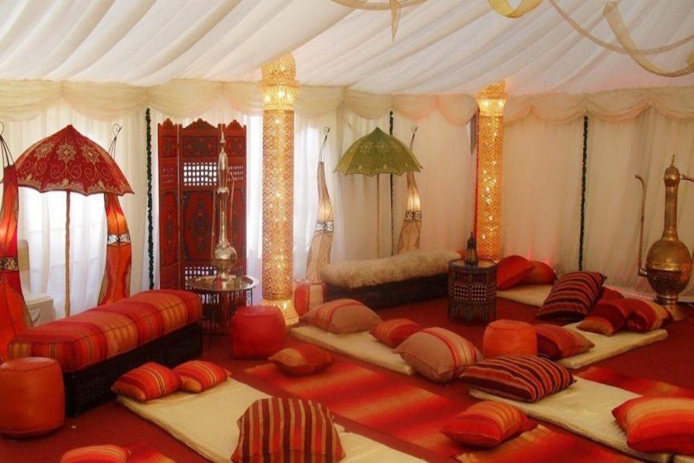 salon decoracion arabe