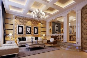salon decorado estilo arabe