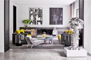 salones estilo eclecticos