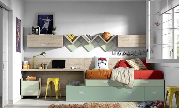 ▷ Variedad de diseños en dormitorios juveniles baratos ...