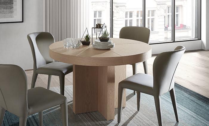 ▷ Ahorra con estas modernas mesas de comedor Kibuc | Prodecoracion