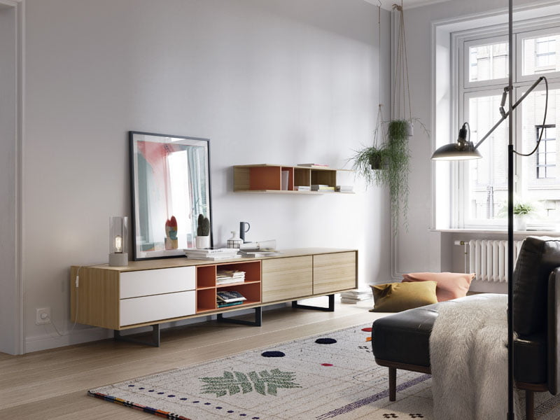 Moderno mueble tv Treku