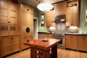 cocina abierta estilo oriental