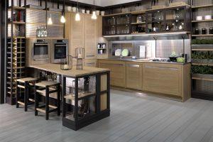 como decorar una cocina industrial