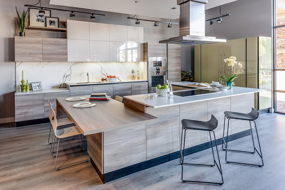 como decorar una cocina moderna