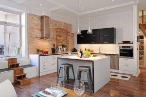 como decorar una cocina pequeña y moderna