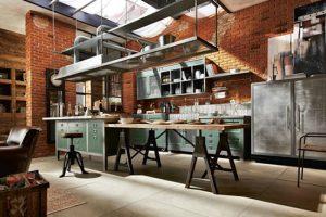 como hacer una cocina industrial paso a paso