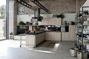 decorar cocina estilo industrial