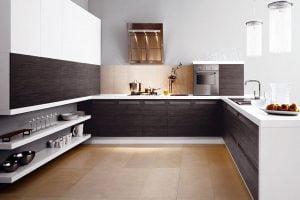 decorar cocina moderna blanca