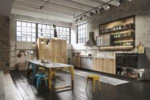 decorar cocina tipo industrial