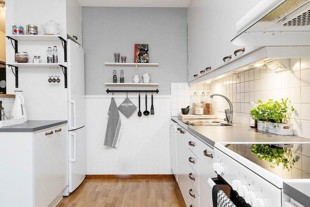 cocina nordica pequeña