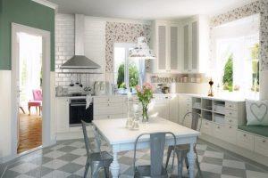 decoracion cocina romantica