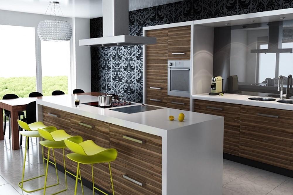 decoracion contemporanea cocina