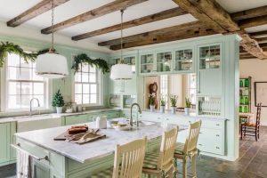decoracion de cocinas estilo shabby chic