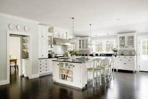 diseño de cocinas romanticas