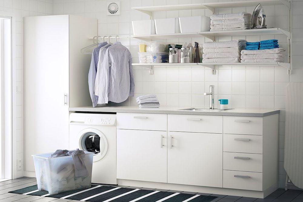 lavaderos pequeños bien organizados