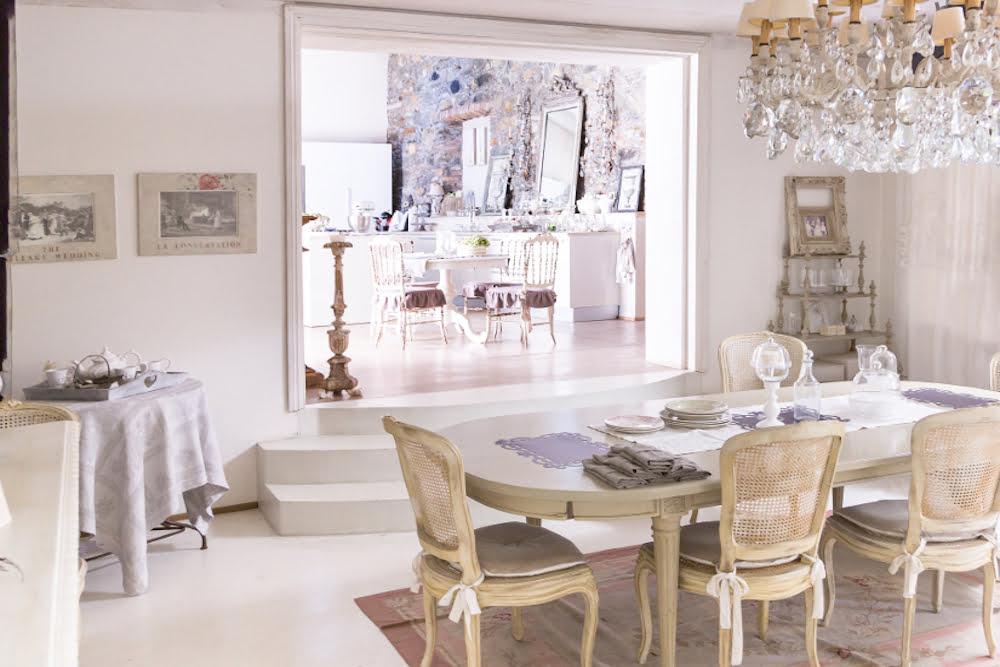 ▷ Aprende a como diseñar tu comedor shabby chic | Prodecoracion