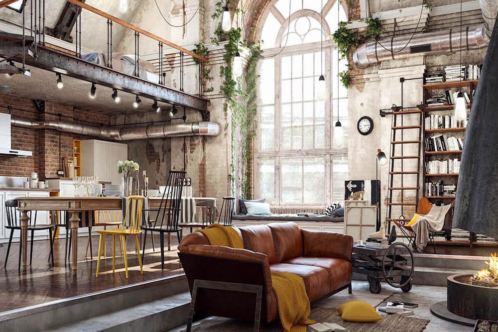 ▷ El estilo urbano de un comedor industrial   Prodecoracion