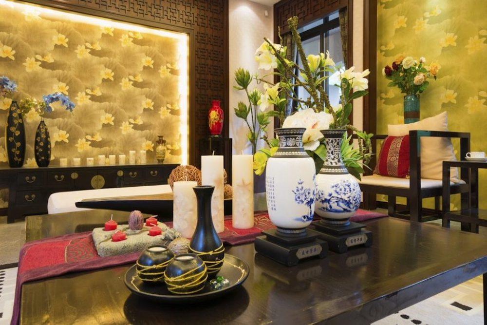 decoracion oriental comedor