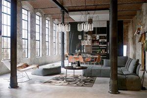 decoracion salon comedor industrial