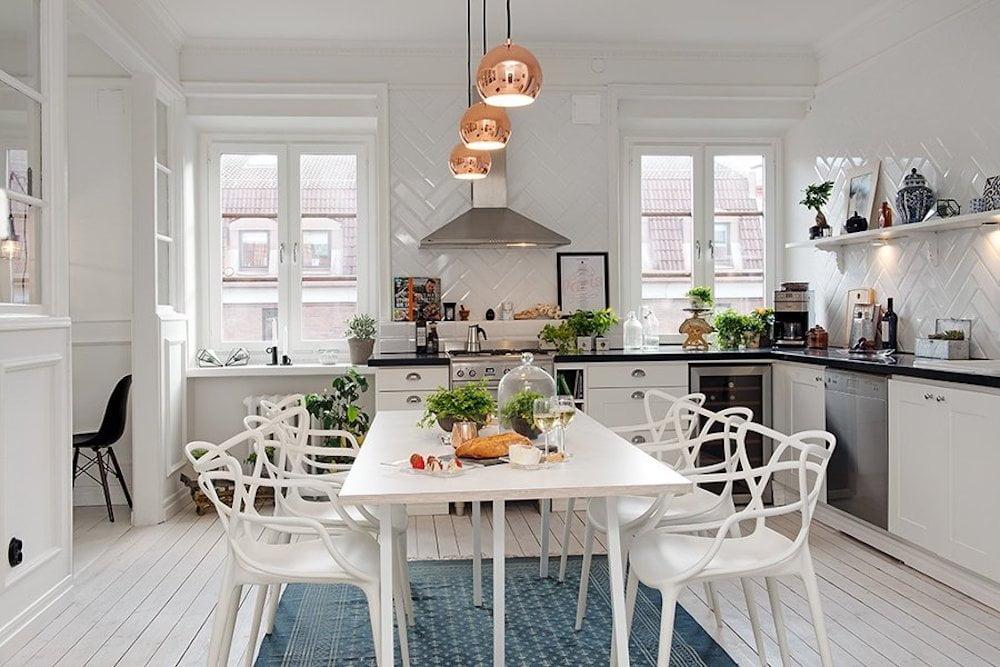 decorar comedor estilo nordico
