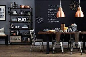 mesa comedor industrial extensible