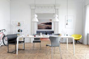 mesas comedor diseño nordico
