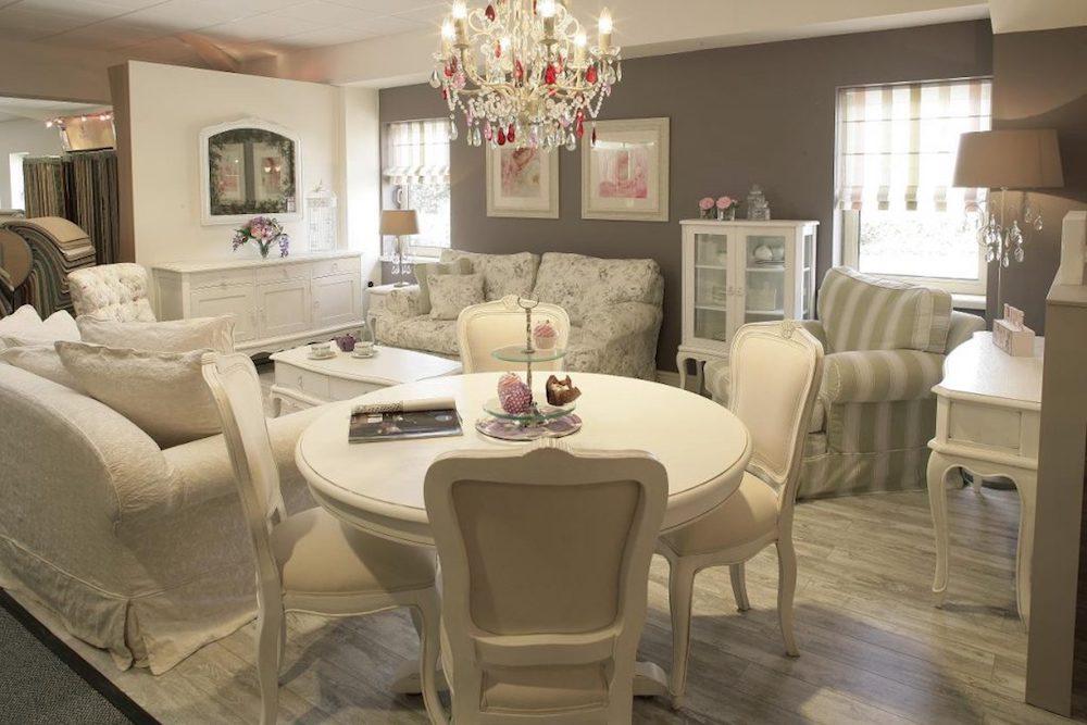 sillas de comedor estilo romantico
