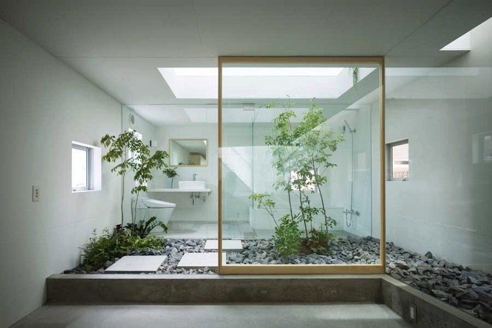 baño oriental