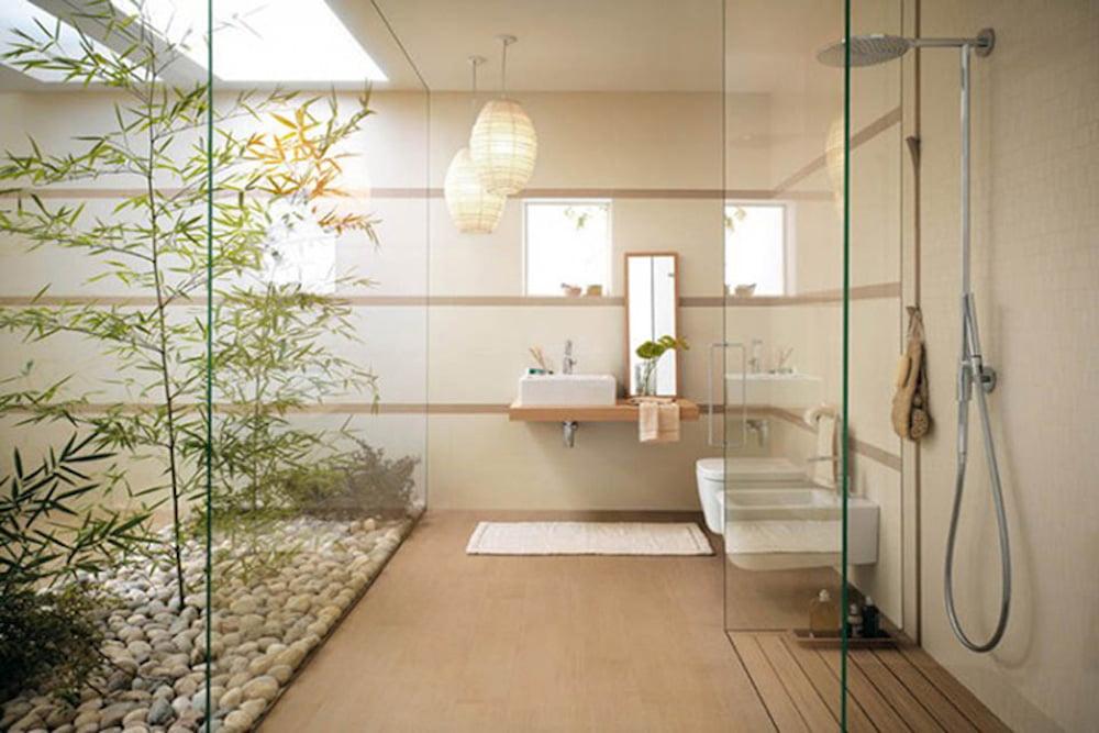 baños estilo oriental