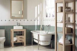 baños estilo vintage