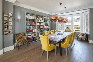 centro de mesa para comedor contemporaneo