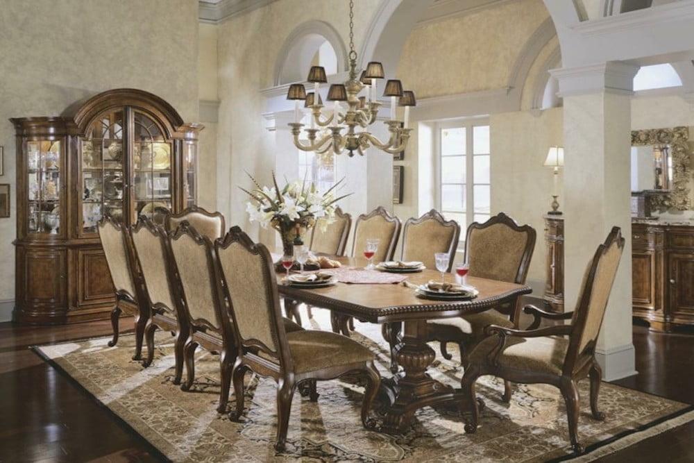 ▷ Las maravillas de la decoración de un comedor clásico ...
