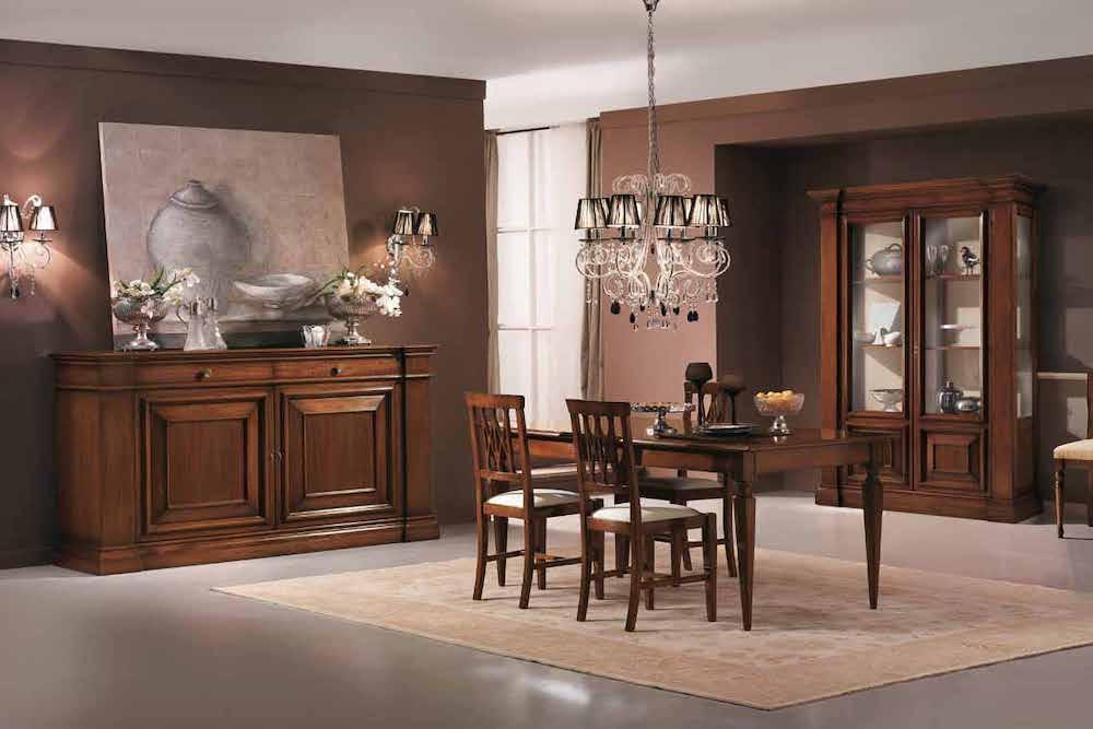 como decorar un salon comedor clasico