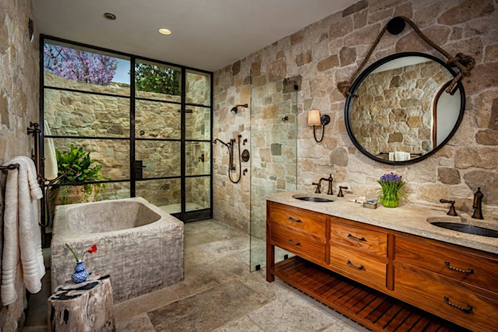 ▷ Consigue un baño rústico con encanto con estas ideas ...