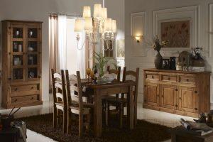 cortinas para comedor rustico