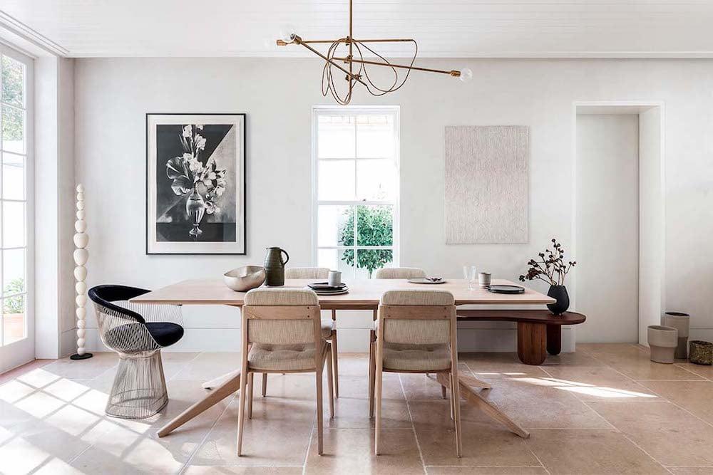 decoración de comedores minimalistas