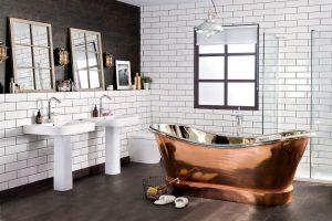 decoracion baño estilo industrial