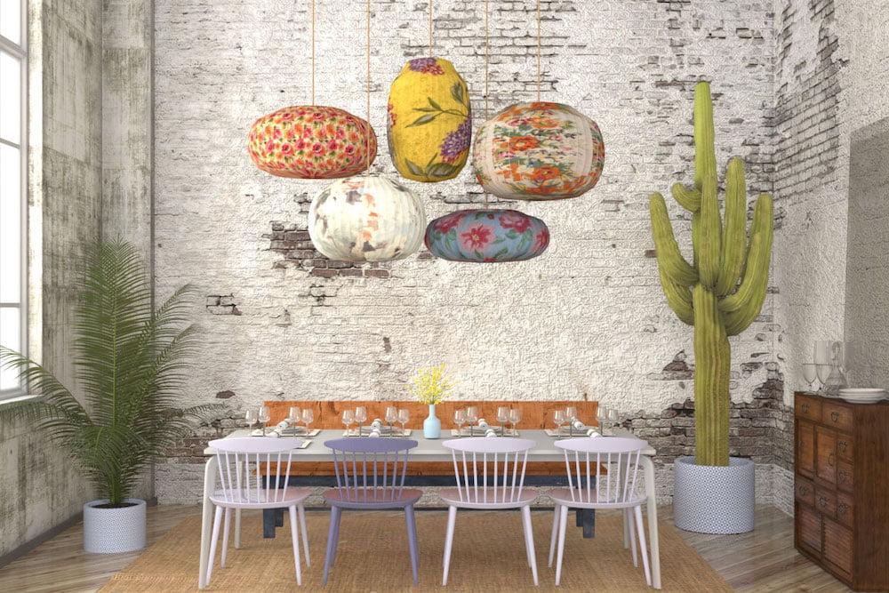 decoracion comedor estilo eclectico
