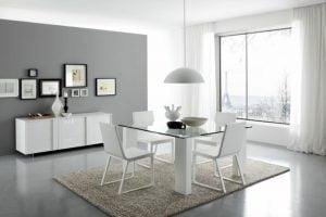 decoracion de comedores minimalistas modernos