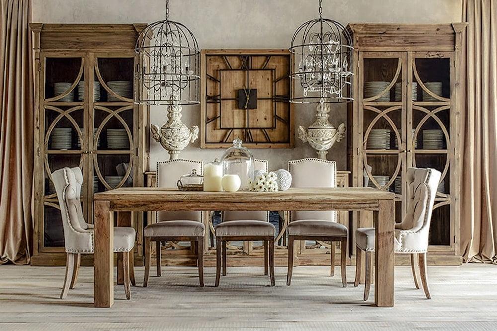 decoracion de interiores comedores clasicos