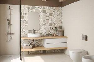 decoracion vintage cuartos de baño